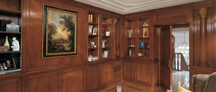 Corner wardrobe closet for Boiserie in legno ikea
