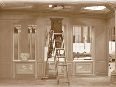 Boiserie in legno produzione cabine armadi for Angelo case mobili